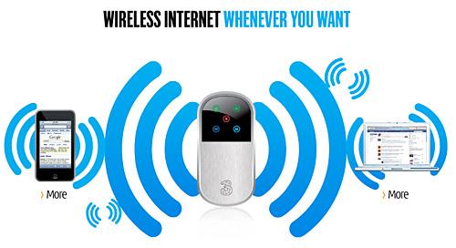 3 network mifi wireless hub