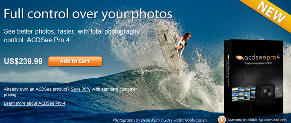 ACDSee Pro 4 image editing suite for photo pros released