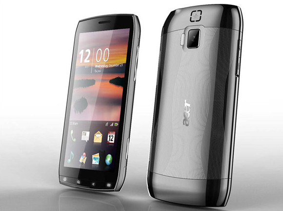 Acer's delicious Android phone packs 4.8-inch, 1024x480 screen resolution
