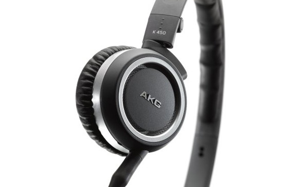 AKG K450 portable headphone review