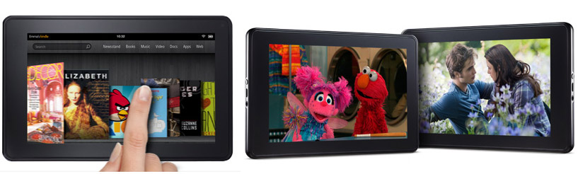 Amazon Kindle Fire - full specs and promo video