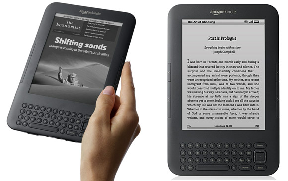 Graphite Kindle.