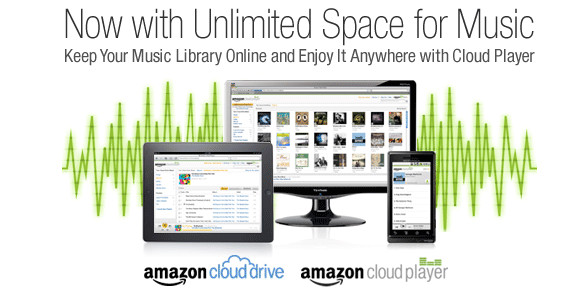 Amazon announces Unlimited Cloud Storage for music