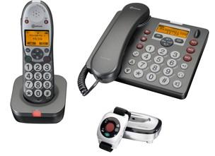 Amplicom PowerTel 680 'Home Alone Phone' for the elderly
