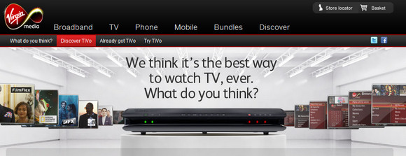 Virgin Media TiVo app puts the heat on beleaguered Sky+