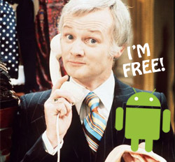 57% of Android apps free, compared to just 26% for iPhone