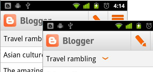 Google releases Blogger app for Android and it's free