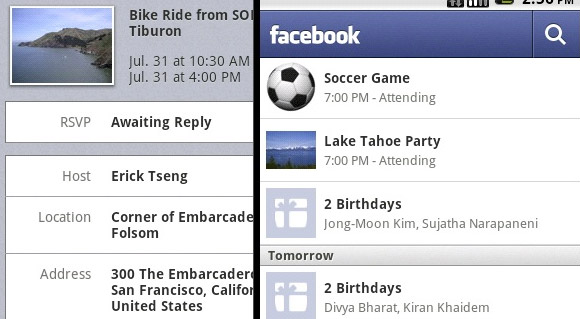 Facebook for Android enjoys feature-packing update