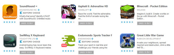 Android App Store sale on right now! Apps just 10p/10c per app each
