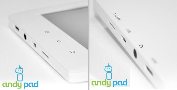 Andy Pad Android tablet promises 7
