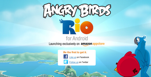 Amazon's Appstore gets Angry Birds Android exclusive