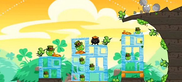 Angry Birds Seasons gets a St. Patricks Day update