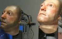 A world of wrong with the animatronic art work heads