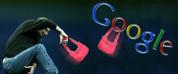 Handbags as Apple call out Google's Android figures