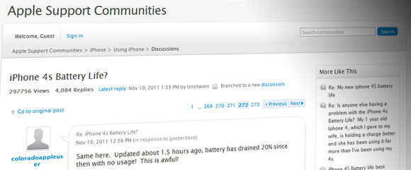 Apple iOS 5.0.1 released to fix fast draining battery bug