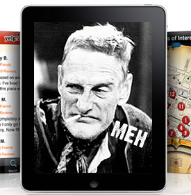 Apple iPad: brief hands on UK review. Verdict: underwhelmed