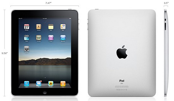Apple iPad official launch date announced, pre-orders start next week