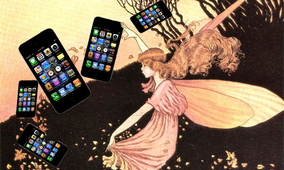 Sorry, but we've no made up iPhone 5 or iPhone 4GS stories for you today