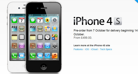 Underwhelming Apple iPhone 4S launches to sighs of relief ...