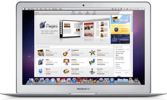 Mac App Store to launch on January 6th across 90 countries