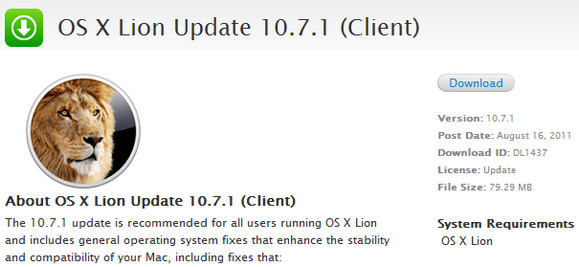 Apple releases Mac OS X Lion preview for developers