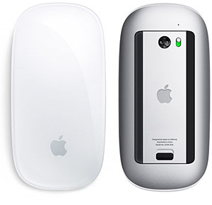 Apple's Magic Mouse: one button and multitouch