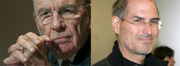 Unholy alliance of Steve Jobs and Rupert Murdoch spawns The Daily