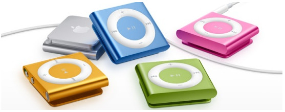 Apple iPod nano: smaller, lighter, now with touchscreen