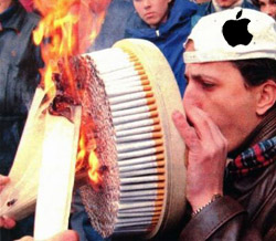 Apple refuse to repair Macs that whiff of fags