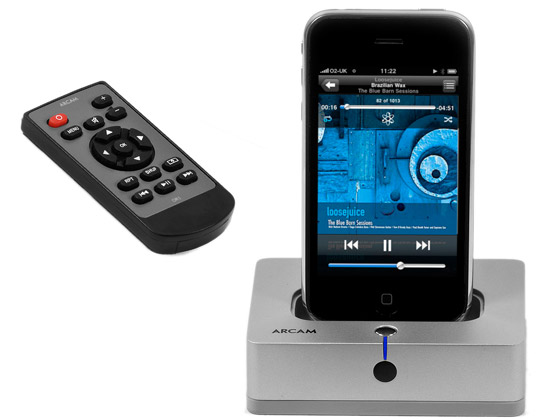 Arcam irDock high-end audiophile dock for iPod/iPhone