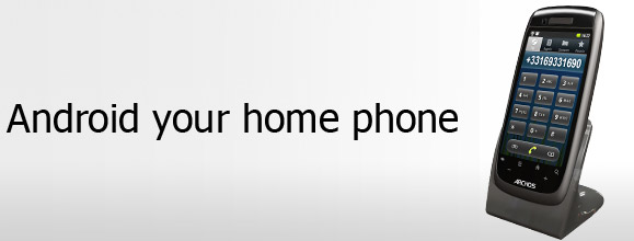 archos dect enabled 35 smartphone brings android goodness to your home landline. Black Bedroom Furniture Sets. Home Design Ideas