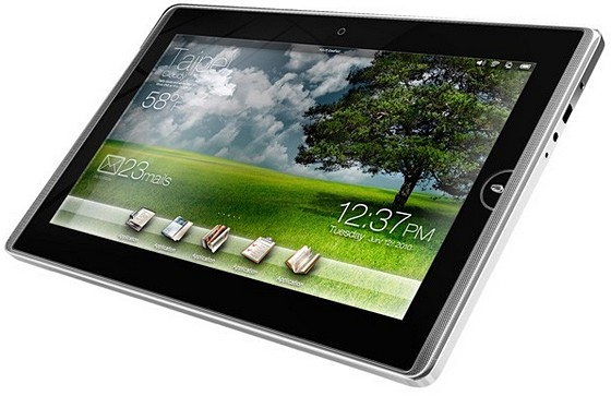 ASUS Eee Pad tablet: Windows 7 and a 10-hour battery life