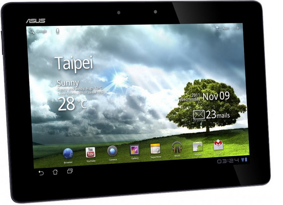 Asus Eee Pad Transformer Prime tablet packs immense quad-core power