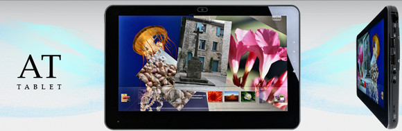 AT-Tablet - first Windows 7 3G tablet, packs 10