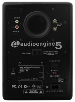 Audioengine 5 active speaker system for iPod & MP3 player: review