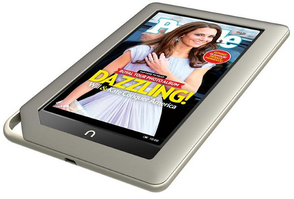 Barnes & Noble takes on the Kindle Fire with the Nook Tablet