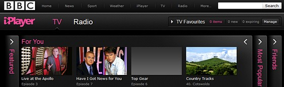 BBC iPlayer offers Twitter and Facebook integration