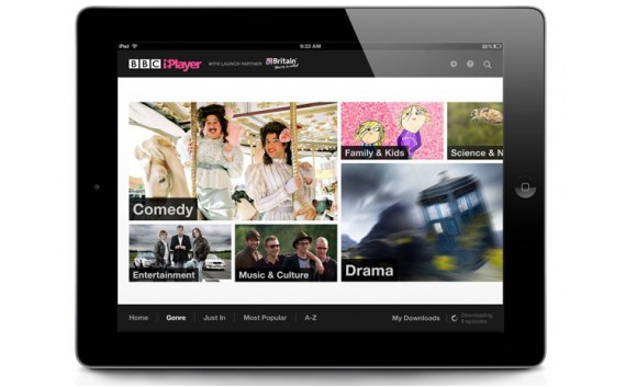 Global BBC iPlayer iPad app offers Beeb content across Europe