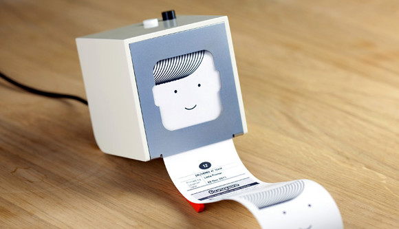 Little Printer pumps out mini newspapers from your phone, looks awfully cute