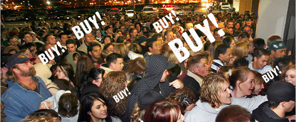 Amazon brings 'Black Friday' to Blighty. Goths not invited