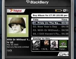 7digital for Blackberry