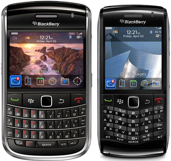 BlackBerry Bold 9650 and Pearl 3G info floods forth