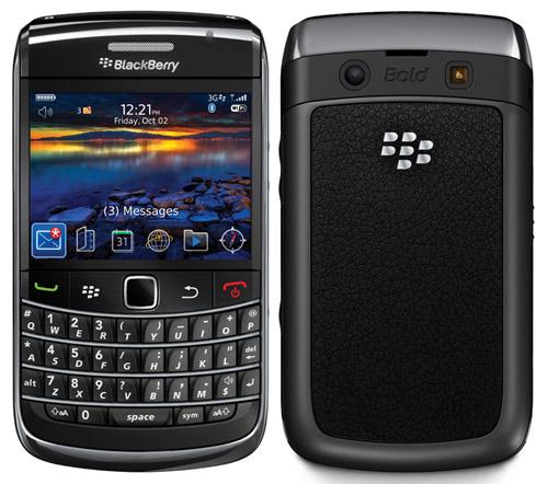BlackBerry Bold 9700 breaks cover