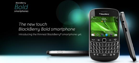 BlackBerry Bold 9900/9930 handset officially announced
