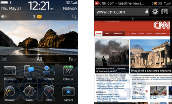 Blackberry OS 6.0 screenshots and interface details emerge