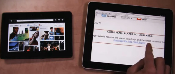 BlackBerry PlayBook takes on the iPad