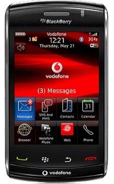 Blackberry Storm2 on Vodafone pre-order