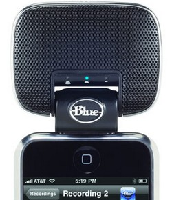 Blue Microphones hi-fi stereo microphone for iPhone/iPod