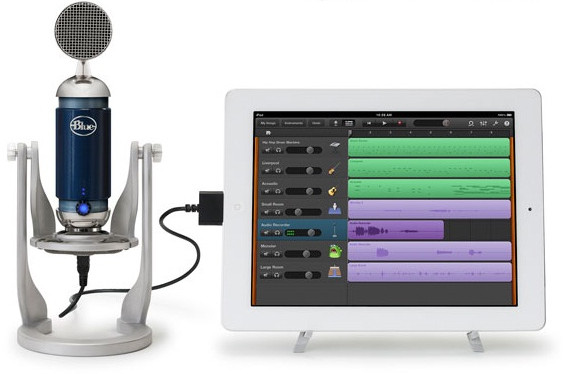Blue launch Spark Digital and Mikey Digital pro iPhone and iPad microphones