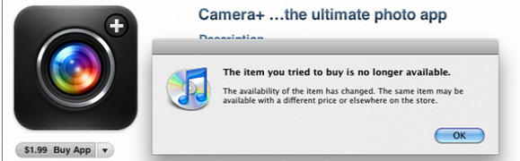 Camera+ iPhone app developers slip in useful feature, get quickly booted off iTunes